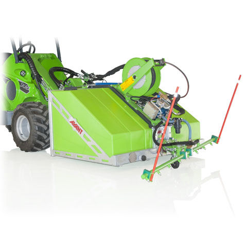 Avant loader high pressure washer UK sales