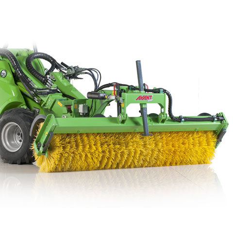 Avant loader rotary broom UK sales