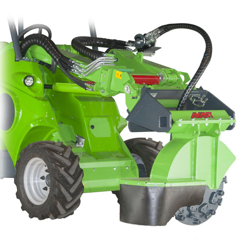 Avant loader tree stump grinder UK sales