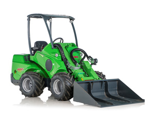 Avant loaders UK sales - compact, powerful loaders, more versatile than a compact tractor