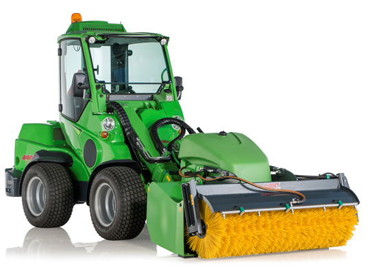 Avant® front loaders - bucket broom UK Avant sales