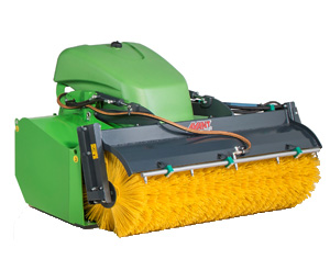 Avant bucket broom attachments, Avant collecting brooms with UK delivery