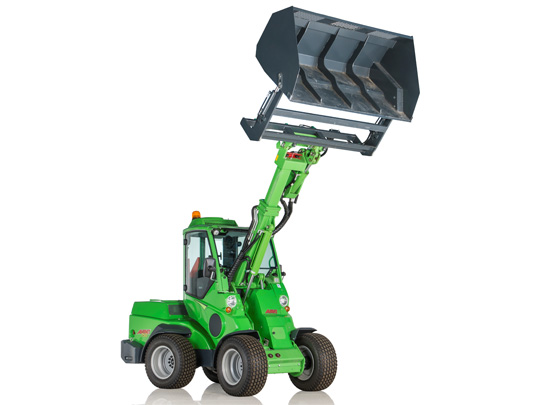 Avant® front loaders - high tip bucket UK Avant sales