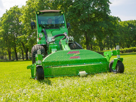 Avant® front loaders - Lawnmower 1500 UK Avant sales