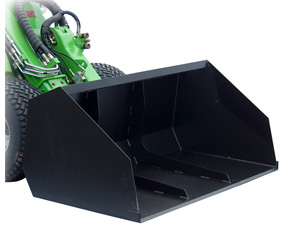 Avant light material bucket attachments, Avant buckets with UK delivery