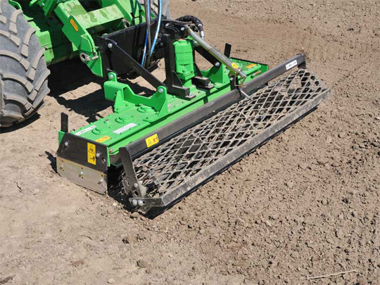 Avant® front loaders - rotary harrow UK Avant sales