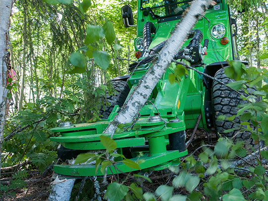 Avant® front loaders - tree shear UK Avant sales