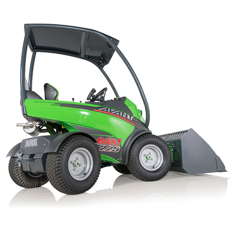 Avant loaders - 200 Series loaders, a serious alternative to compact tractors