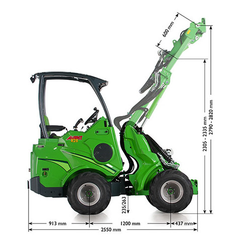 Avant R Series loader specification